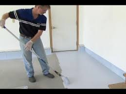 Epoxy flooring garage White Garage Kings How To Epoxy Coat Garage Floor This Old House Youtube