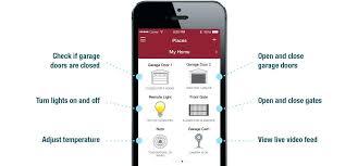 garage door opener app iphone automatic garage door opener app plain on exterior throughout connected home garage door opener app iphone