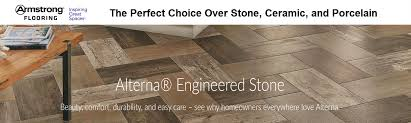 alterna engineered stone offers the timeless elegance and beauty of stone and tile but its engineered stone construction makes alterna tiles tough enough