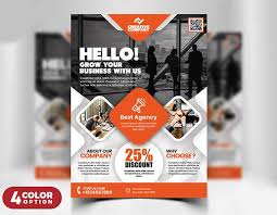 Business Flyer Template Free Download Free Download Elegant Business Flyer Psd Template Design 4