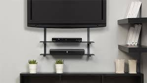 image of tv wall mount with shelf best