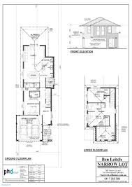 small lot house plans lovely narrow single y for lots beautiful smart design ideas perth h
