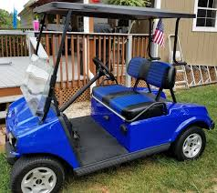 the original shown above with pleats oem style replacement golf cart seats
