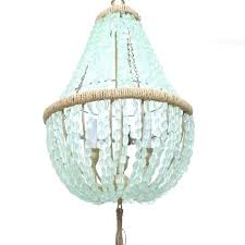 sea glass chandelier best sea glass chandelier ideas on blue pendant for sea glass beach glass