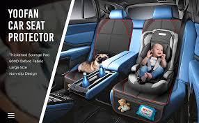 yoofan 2 pack car seat protectors with