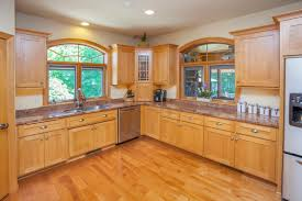 What Color Of Paint Looks Good With Natural Maple Cabinets Home