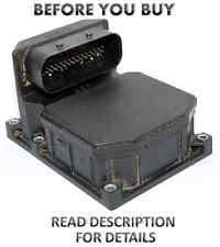 bmw abs module repair 4 2001 2002 2003 2004 2005 bmw 745 745li abs pump control module bosch