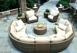 patio furniture sectionals stylish outdoor sectional sofa set best of