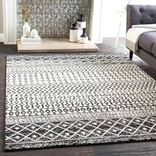 black white rug black amp white bohemian area rug x black and white check rug runner black white rug