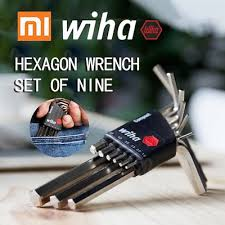 Qoo10 - <b>XIAOMI Wiha</b> Inner <b>Hexagonal</b> Wrench Kit 9 Pieces ...