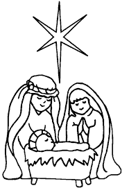 Small Picture Nativity Scene Coloring Pages Printable Archives Within Coloring