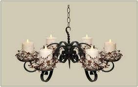 hanging candle chandelier metal inside designs 14