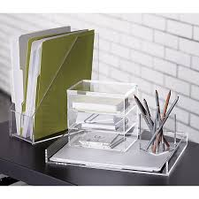 clear office desk. Office Set Of Clear Things That Can Be Written On Format Stacking Boxes 3 Desk E
