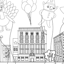 Home » printables » fall » thanksgiving coloring placemats | free printable. Thanksgiving Parade Placemat Coloring Page Pineapple Paper Co