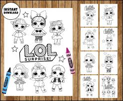 Coloriage poupee lol surprise doll sis swing. Lol Surprise Dolls Colouring Pages Lol Surprise Dolls Party Printable Lol Surprise Dolls Colouring Pages Instant Download Printable