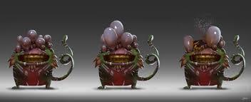 Force Character Design Janos Gerasch Alien Character Design Busted Eye Alien