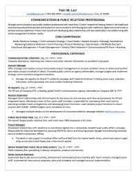 Public Relations Sample Resume Public Relations Resume Sample Professional Resume Examples 7