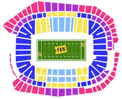 St Petersburg Stadium Seating Chart Super Bowl Package Seating Chart Sports Entertainment Travel