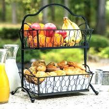 countertop fruit basket kitchen fruit basket fruit stand for kitchen tier fruit vegetable bowl basket stand
