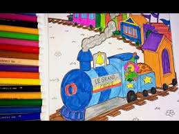coloring pages circus train coloring book kids fun art video for children