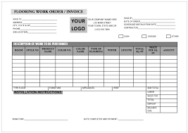 Printable Carpet Installation Invoice Templates Professional