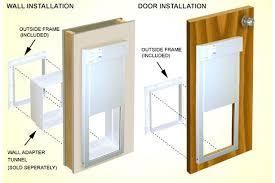 electronic dog door for sliding glass smart doors reviews walls french medium size electronic dog door