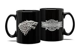 Game Of Thrones Stark House Crest Wooden Plaque of Thrones Stark Emblem Mug 91