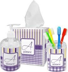 Bathroom Vanity Accessory Sets Accessories Purple Bathroom Accessories With Majestic Bathroom