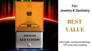 <b>3D Printer</b> SOOYOO PHOTOCURABLE <b>KLD</b>-LCD <b>1260</b>. Best value ...