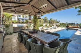 outdoor wooden dining chair. impressive covered outdoor dining area with long wooden table also wicker chairs over antique chair