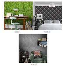 125 16 inches pvc waterproof self adhesive 3d wallpaper roll wall floor contact paper stickers covering decals home decor leaf s 1 tomtop