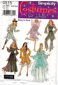 Simplicity Patterns Costumes Gorgeous Simplicity Pattern 48 Costume Pattern Fairy Renaissance Pirate