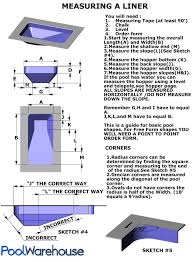 how to measure a swimming pool liner Inground Pool Diagram Inground Pool Diagram #13 inground pool diagram