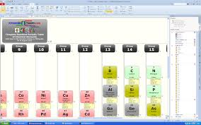 Periodic Table of Chemical Elements Wikipedia Webmap (BASIC Edition)