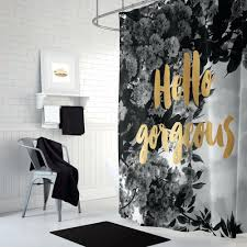 black and gold curtains black and gold shower curtain with fl print black n gold shower black and gold curtains