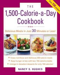 Food Calorie Book The 1500 Calorie A Day Cookbook By Nancy S Hughes