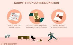Resignation Template Resignation Letter Templates