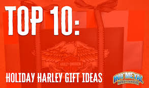 top 10 holiday gift ideas from hot metal harley davidson