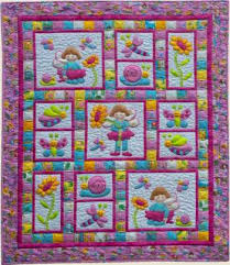 Pixie Girl By Kids Quilts Quilt Pattern 2000 Fabric Patch ... & Pixie Girl By Kids Quilts Quilt Pattern 2000 Fabric Patch Patchwork Basic Patchwork  Quilt Patterns How Adamdwight.com
