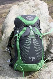 Osprey Exos 48 Size Chart Osprey Exos 48 Pack First Look Outdoors Magic
