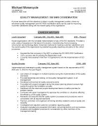 qa manager resume samples by quality control resume sainde org - Quality  Assurance Resume Objective