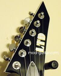 mod guitar dot com guitar mods and hints from jim pearson labels active black blackout cream duncan emg emg 81 emg 85 esp esp v esp v200 humbuckers pickups seymour seymour duncan v200 white