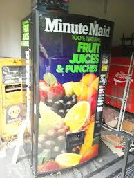 Fruit Vending Machine For Sale Classy Used Minute Maid Fruit Juices Punches Vending Machine For Sale In