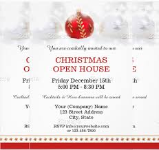 christmas open house flyer 22 open house invitation templates free sample example format