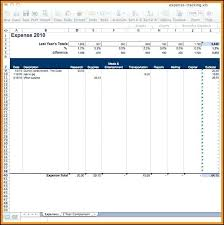 Capital Expenditure Excel Template Free Downloadable Sample Report ...