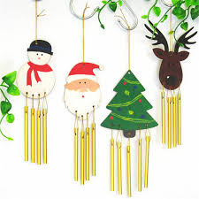 details about diy paint your own wooden wind chime wood windchime decor kids gift
