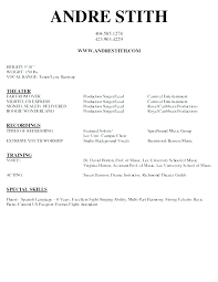 Performance Resume Template Best Actors Acting Cv Template Word Fuelstudioco