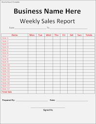 Sales Weekly Report Under Fontanacountryinn Com