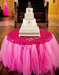 tutu table skirts