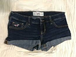 Hollister Women Shorts Denim Jean Jeans W23 20 07 Picclick